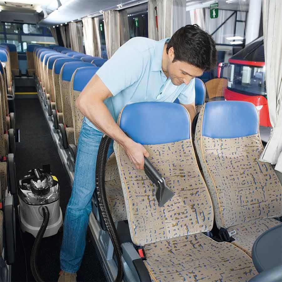 Химчистка автобусов