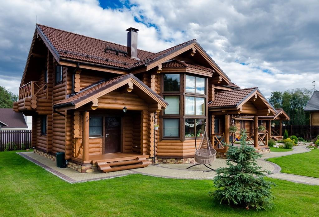 Уборка деревянных коттеджей, домов